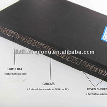 China best quality of economical and durable rubber conveyor belt