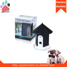 Puppy Dog Outdoor Ultrasonic Anti Barking Control Birdhouse Bark Stop Nuisance