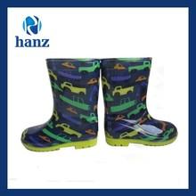 boys raining transparent pvc shoes