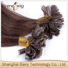 Top quality Russian 100% remy u tip human hair extension