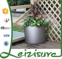 2015 cheap decorative plant pots outdoor combined plastic flower pot,,corner planter