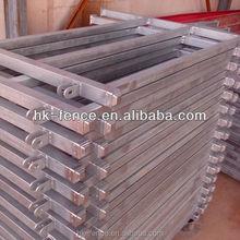 Australia Style 1.8x2.1M 6 Rails Galvanized Portable Cattle Yard Panel (Direct Factory)