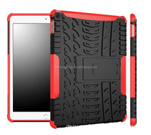 Hot sell PC silicone heavy duty cover hard case for ipad air 2