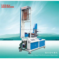 New Portable Mini Film Blowing Extrusion Machinery Small Extrusion Blown Film Machine