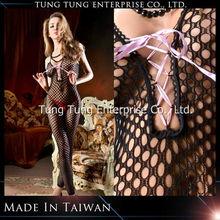 Taiwan factory crochet net women hot sexy japanese lingerie