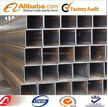 construction materials, welded square low carbon steel pipe