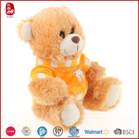 Beautuful style clothes customize for stuffed animals bear China factory