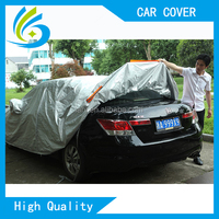 aluminium insulated easy folded car cover waterproof for automobiles all weather
