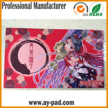 AY Rubber Anti Slip Mouse Pad , Latest Computer Pictures Hot Selling Playmat