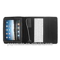 Wireless Bluetooth Keyboard For IPad 1&2 ;wireless leather case bluetooth keyboard for ipad2 ;For iPad Bluetooth Keyboad