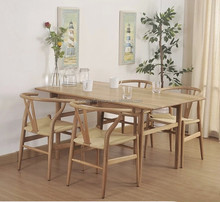 Relax Wooden dining chair Wishbone Y Chair By Hans J. Wegner