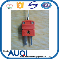 2 wires simplex omega thermocouple photo, t/j/e/k/n type thermometer, Ningbo Auqi omega thermocouple