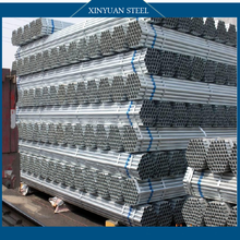 galvanized round steel pipes