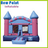 Purple inflatable castle bouncer, jumping castles house,inflatable castles