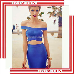 Wholesale 2015 new fashion halter natural color trumpet brand names and evening dresses