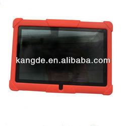 """8"""" tablet rugged rubber case for samsung galaxy, kindle fire kid proof case"""