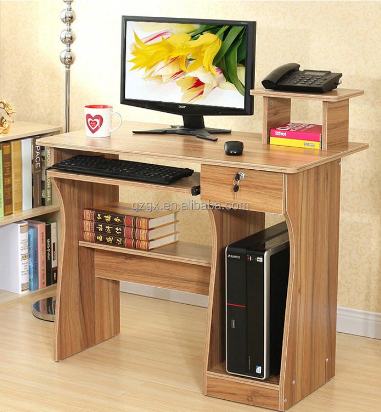 Gros vert meubles bureau bureau d 39 ordinateur avec for Meuble d ordinateur bureau en gros