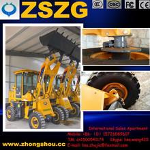 ZSZG Pilot control 1.6 ton wheeled loader