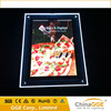 Wholesales LED crystal advertising curved LED light box for sale