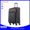 superlight luggage carry on spinner luggage wheeled softside suitcases travelling flight bags with trolley