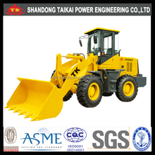 2 Ton Wheel loader for sale, TK926G,CE Approved,made in china,small wheel loader