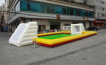 Cheap inflatable football soccer fields