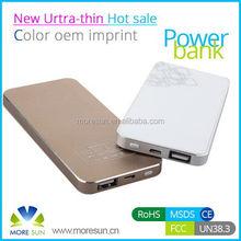 Aluminum alloy 4500 mah portable power bank 4500 mah MID tech latest design 4500mah power bank