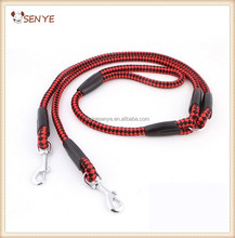 Wholesale Nylon Dog Leash Double Hooks