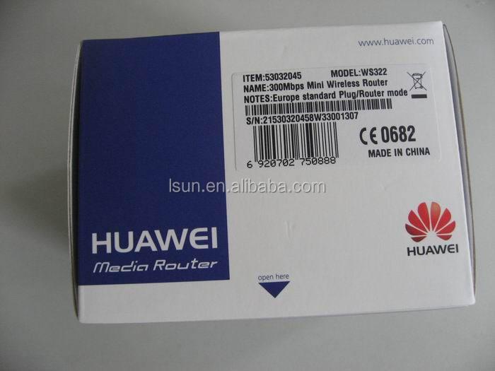 Wifi amplificador de Huawei ws322, Router inalámbrico Wifi repetidor extensor de la antena de refuerzo