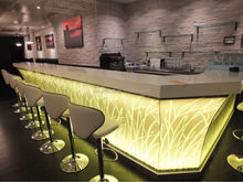 2015 New bar counter design restaurant/nightclub counter top salad bar l shape home bar counter for sale