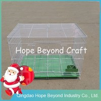 Metal wire pet display cages cat cage