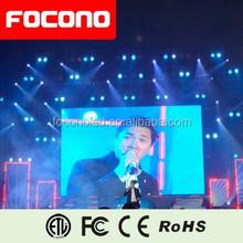 FOCONO Indoor P5 led displays,stage background led display big screen,video displays