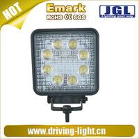15w 18w 24w 27w led working light for heavy duty,trucks,motorcycles 12v led work light