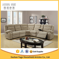 Motion Sectional Living Room Furniture Reclining Corner Sofa Bed