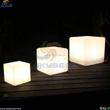 Party Decorations glowing led cube light for Night Club party event