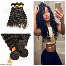 Best selling hair products for 2015, 7A top grade unprocessed virgin mongolian hair, curly wave human hair extention