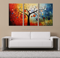modern flower abstract painting art