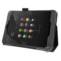 for nokia n1 tablet case , back stand pu leather case wholesale