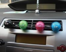 Small ball shape car vent perfume air freshener brands