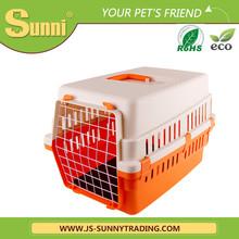 Customized pet transport box small plastic kennels