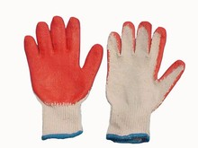 Safety PVC coated working gloves
