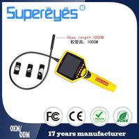 Adjustable LED lights metal plastic digital borescope endoscope lens
