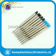 High quality parker metal cheap ballpoint pen refill replacement