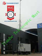 BTS telescopic tower mast heavy duty