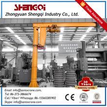 Small Size Electric Hoist Jib Crane 1 Ton
