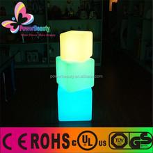 40*40*40cm led cube seat lighting,mini cube led light,ice cube led