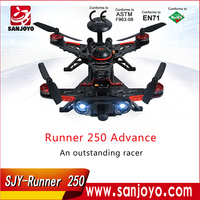 Factory supplier Walkera Runner 250 Advance GPS Racer RTF Kit with 1080p Camera DEVO7 OSD AV Transmitter