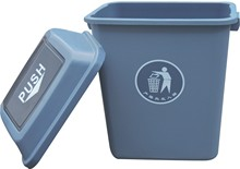 40L dustbin wash /plastic skip bin/furniture garbage can