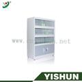 Acero archivadores verticales, Gabinete de acero