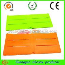 2012 fashion fashionable silicon wallet/ purse